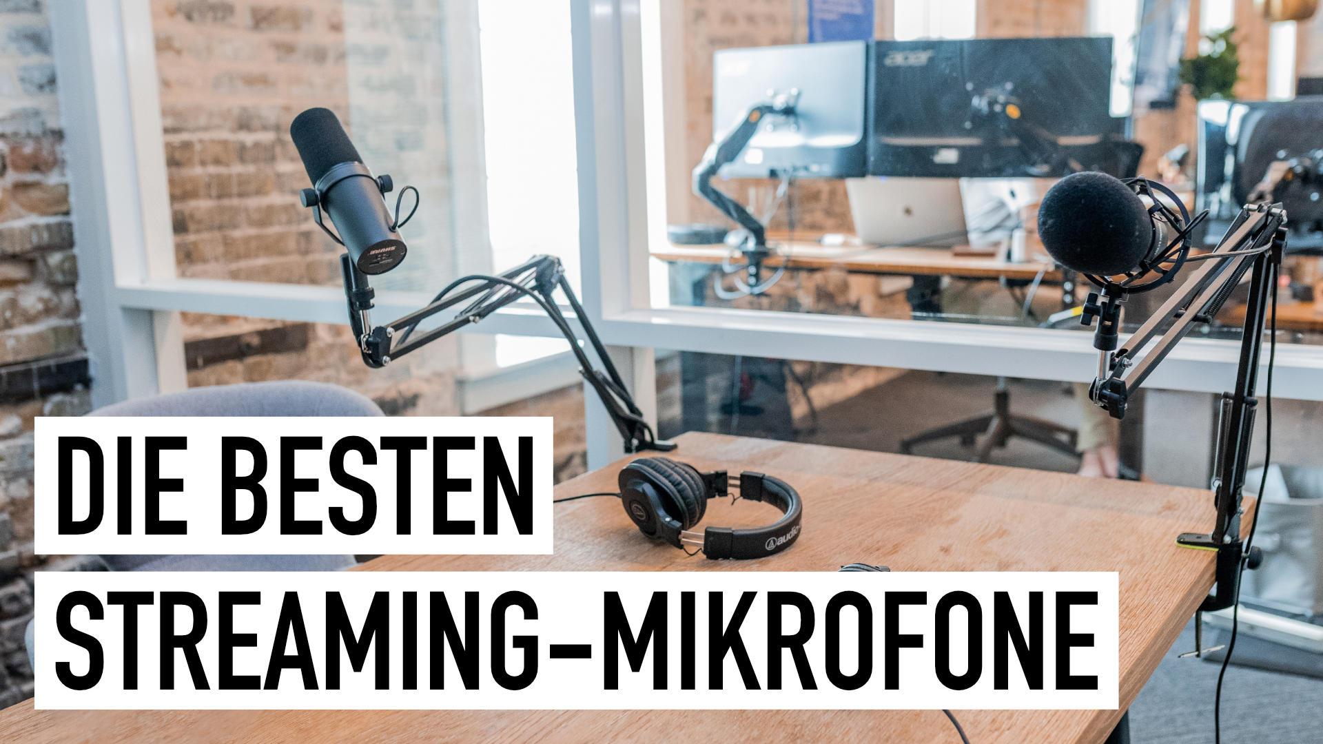 Streaming Mikrofon: Die besten Modelle für perfekten Klang
