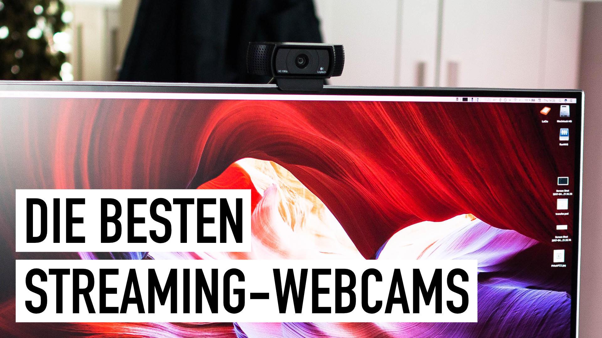 Facecam: Die besten Streaming-Webcams und -Kameras