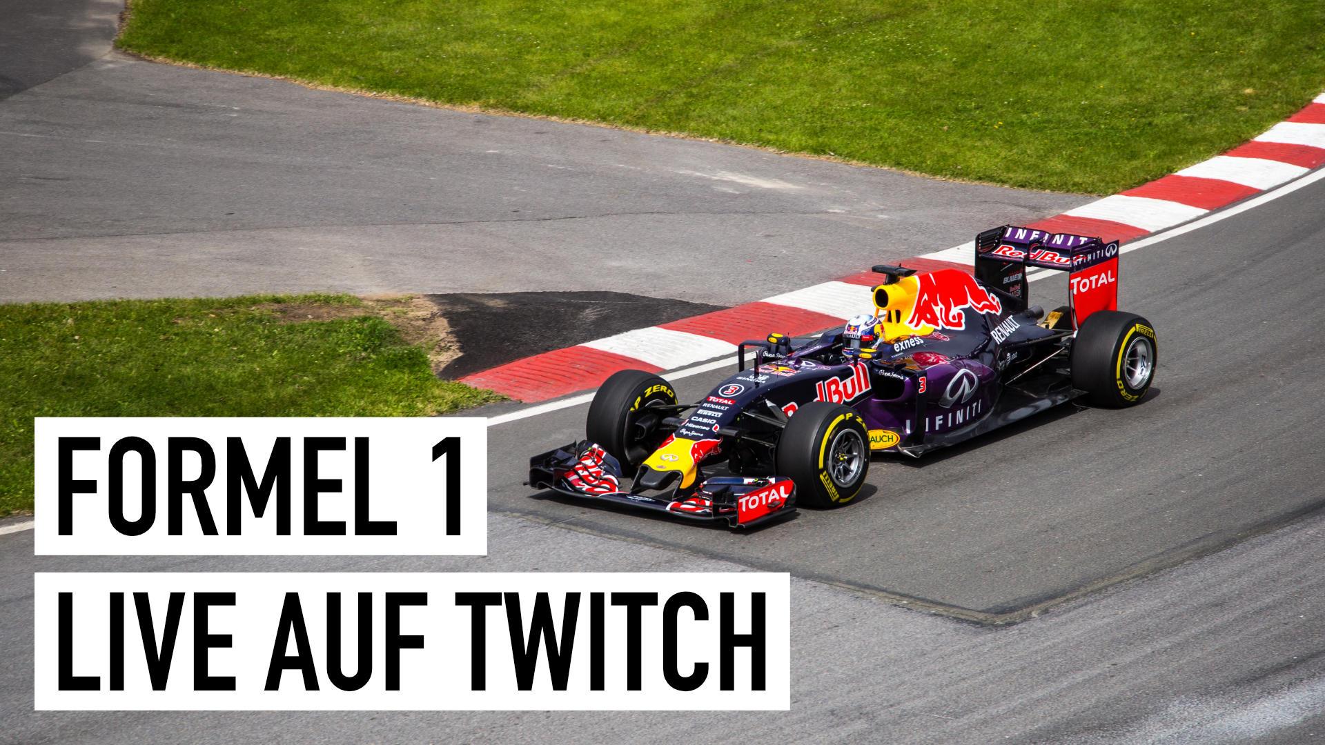 Formel 1: Erstmals live auf Twitch (GP von Mexiko)