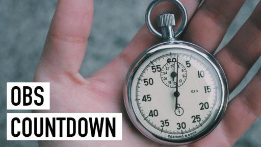 OBS Countdown: Erstellen und Einfügen als Browserquelle [Video]