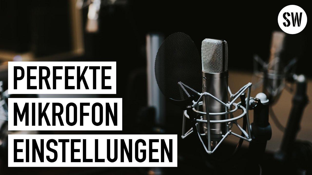 Mikrofon in OBS einstellen: Perfekter Klang mit Filtern
