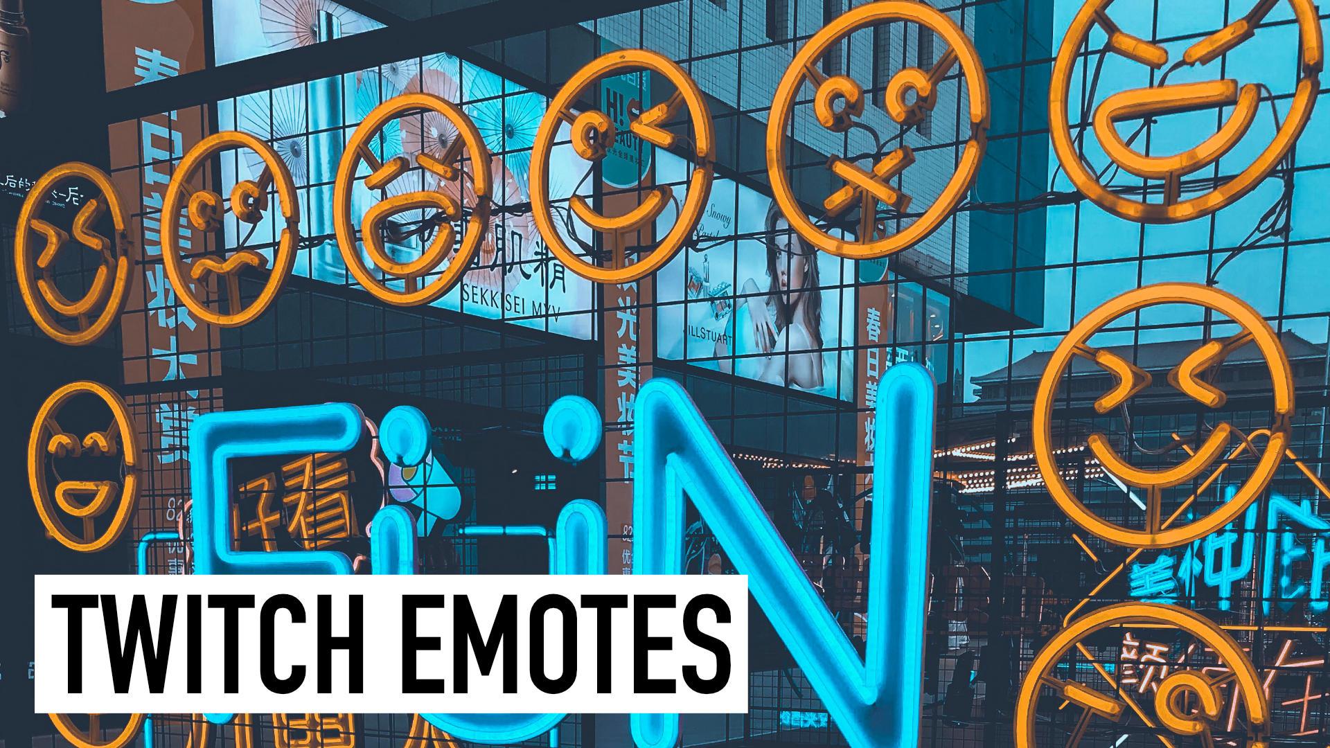 Twitch Emotes: Selber erstellen oder kaufen – so geht's!