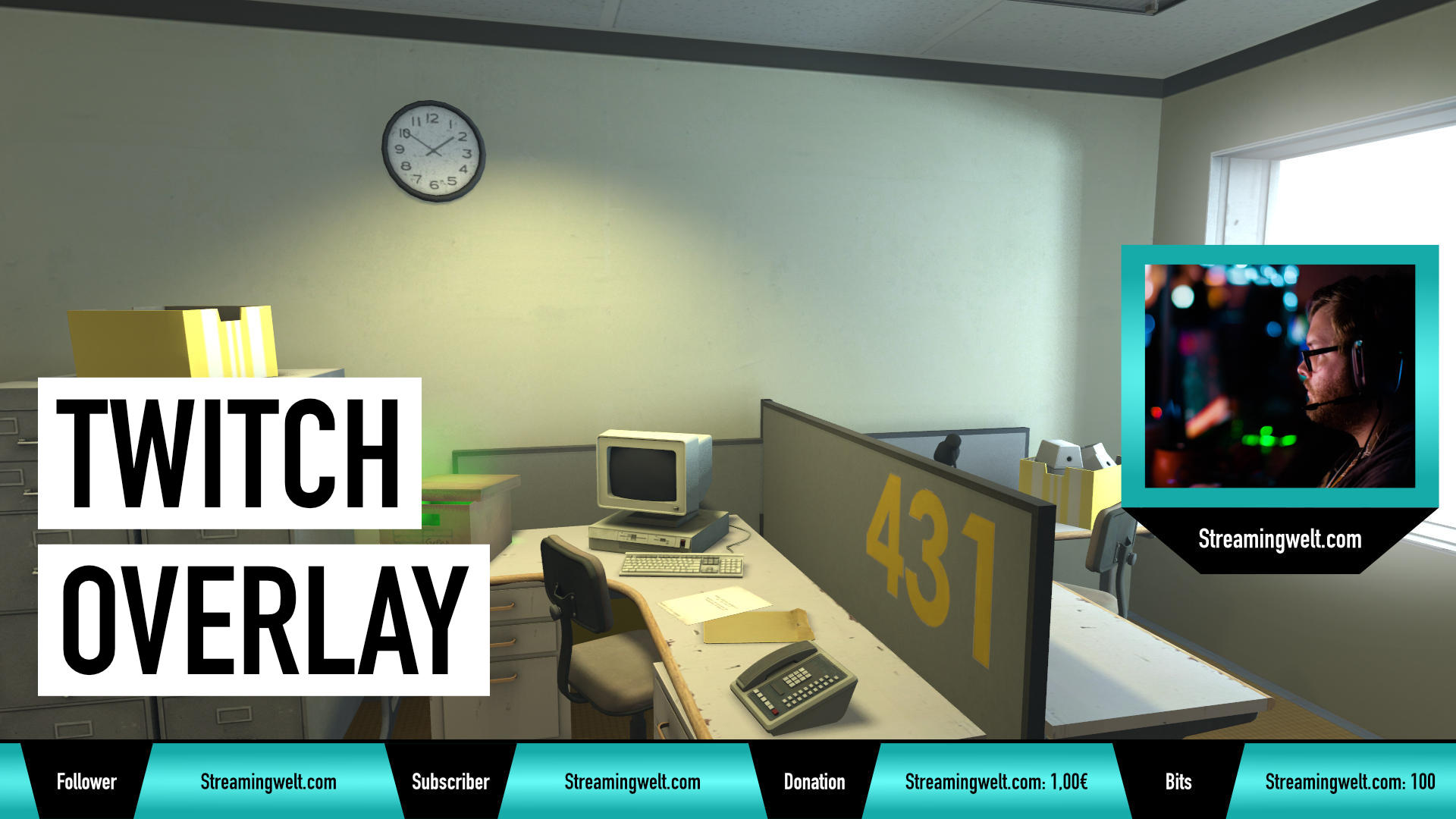Twitch Overlay: Professionelle Optik für euren Stream