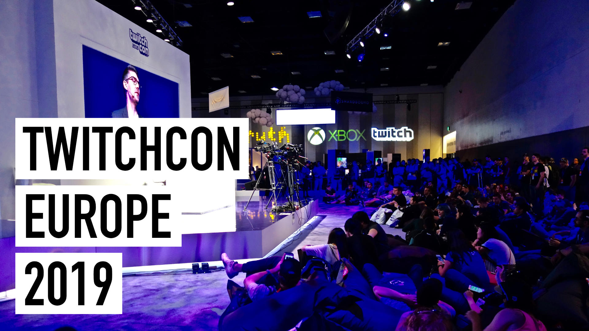 TwitchCon Europe Berlin 2019 IRL Live Stream